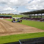 Northampton Town FC Pitch Renovation 2017