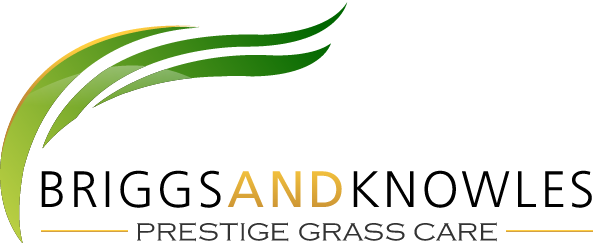 Briggs and Knowles Prestige Grass Care Logo