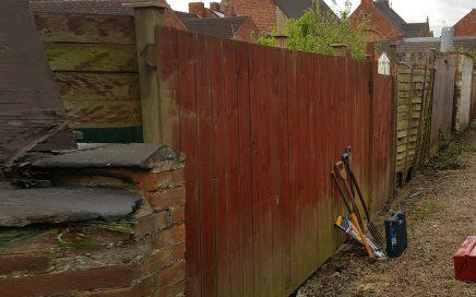Garden Fence Repair